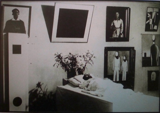 Malevich Sleeping