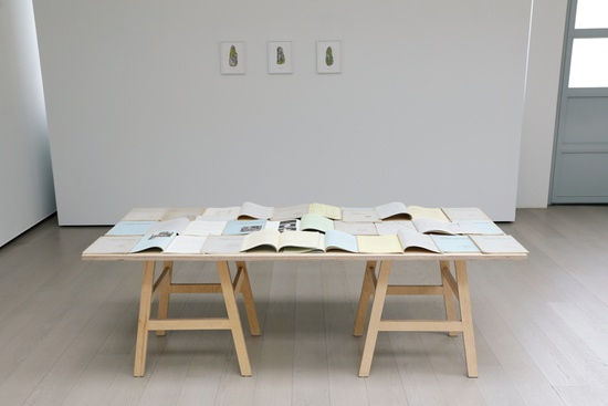 Table with orgonomic functionalism publications