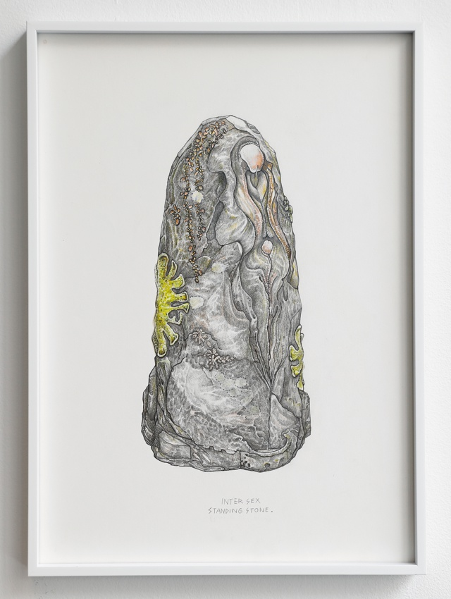 Trans Neolithic Future, series of drawings
